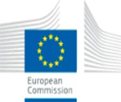 Cartel del comunicado de la comisión europea
