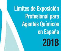 Imagen de portada de la Jornada Técnica: Límites de Exposición Profesional para agentes químicos en España