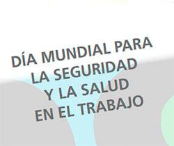 Imagen de la portada de la Jornada técnica del Día Mundial para la Seguridad y la Salud en el Trabajo