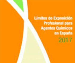 Imagen de la portada de la Jornada Técnica: Límites de Exposición Profesional para Agentes Químicos en España 2017.