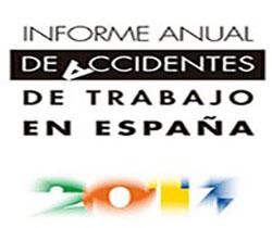 Imagen del logotipo del informe anual de accidentes de trabajo