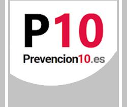 Imagen de logotipo de la APP Prevención 10 .es