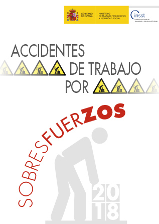 Accidentes de trabajo por sobresfuerzos - 2018