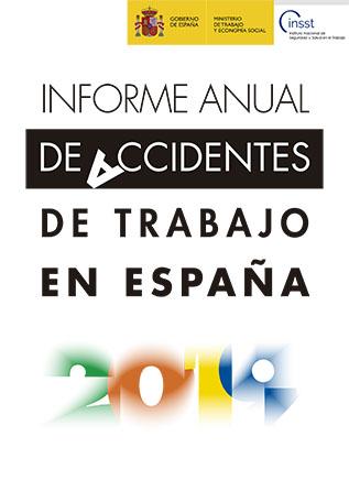 Informe anual de accidentes de trabajo en España 2019