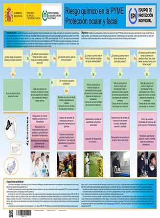 Riesgo quimico en la PYME. Proteccion ocular y facial - Año 2014