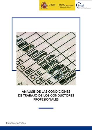 Análisis de las condiciones de trabajo de los conductores profesionales - Año 2018