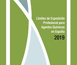 Imagen de la portada de la jornada técnica, LEP para agentes químicos en España 2019 y situación actual de los agentes cancerígenos o mutágenos