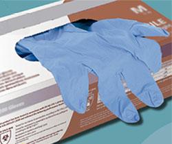 Caja de guantes de protección de uso dual
