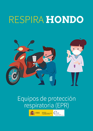 Folleto. Respira hondo. Equipos de protección respiratoria - Año 2109 (en catálogo)