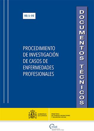 Procedimiento de investigación de casos de enfermedades profesionales - Año (2019)