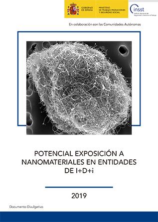 Potencial exposición a nanomateriales en entidades de I+D+i - Año 2019