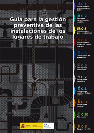 Carteles con las etapas a controlar en diferentes instalaciones industriales - Año 2019
