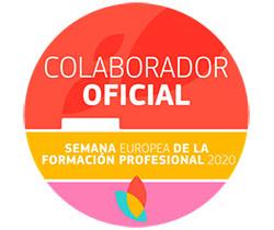 Imagen de logotipo de la Semana Europea de la Formación Profesional, colaborador oficial