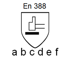 Dibujo UNE-EN 388