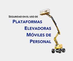 Imagen de una Plataforma Elevadora Móviles de Personal
