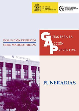 Guía para la acción preventiva: Funerarias - año 2003