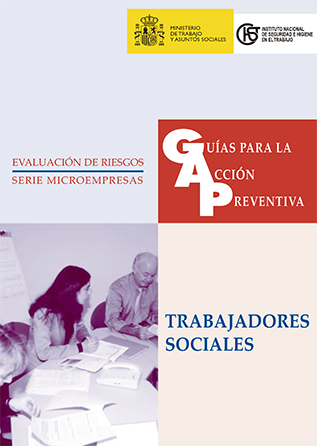 Guía para la acción preventiva: Trabajadores sociales - Año 2003