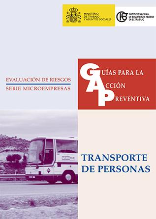Guía para la acción preventiva: Transporte de personas - Año 2002