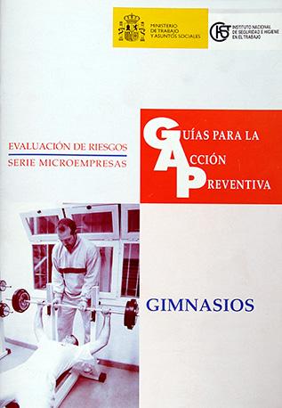 Guía para la acción preventiva: Gimnasios - Año 2003