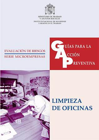 Guía para la acción preventiva: Limpieza de oficinas - Año 1999