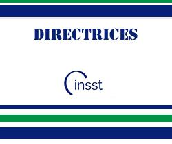 Imagen de logotipo de directrices del instituto nacional de seguridad y salud en el trabajo