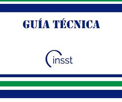 Imagen de logotipo de guía técnica del instituto nacional de seguridad y salud en el trabajo
