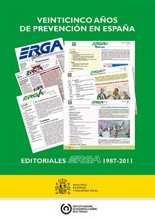 Veinticinco años de prevención en España. Editoriales Erga 1987-2011 - Año 2012