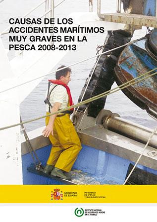 Causas de los accidentes marítimos muy graves en la pesca 2008-2013 - Año 2014