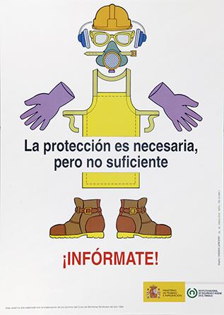 La protección es necesaria, pero no suficiente. Cartel - Año 2010