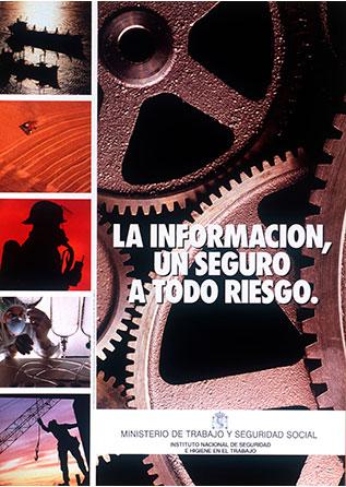 La información un seguro a todo riesgo. Cartel - Año 2000