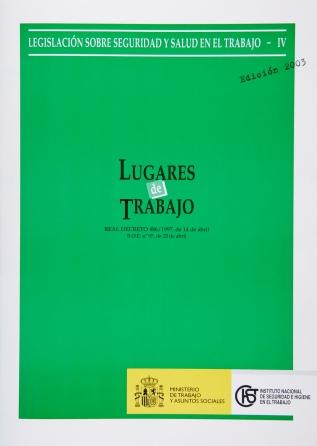 Lugares de trabajo (Real decreto) - Año 2006