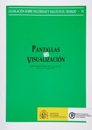 Pantallas de visualización (Real decreto) - Año 2003