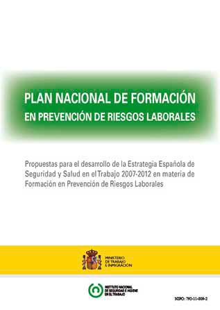 Plan Nacional de Formación en PRL - Año 2011
