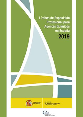 Límites de exposición profesional para agentes químicos 2019