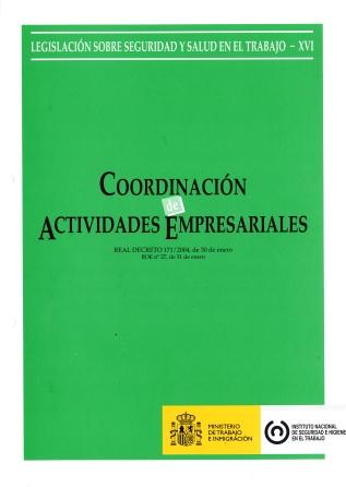 Coordinación de actividades empresariales (Real decreto) - Año 2011