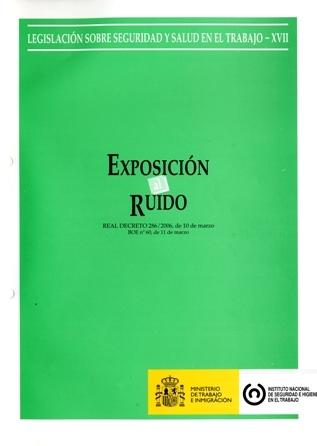 Exposición al ruido (Real decreto) - Año 2011