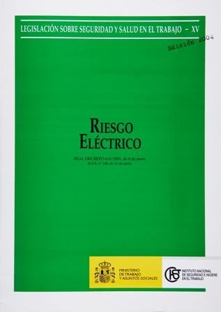 Riesgo eléctrico (Real decreto) - Año 2004