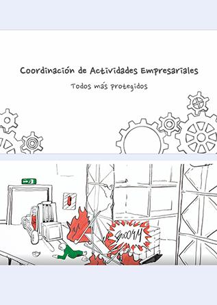 Coordinación de actividades empresariales - vídeo - Año 2018