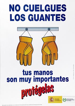 No cuelgues los guantes . Cartel - Año 2001
