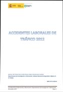 Informe accidentes laborales de tráfico 2012 - Año 2013