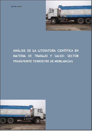 Análisis de la literatura científica en materia de trabajo y salud en el sector Transporte terrestre de mercancías